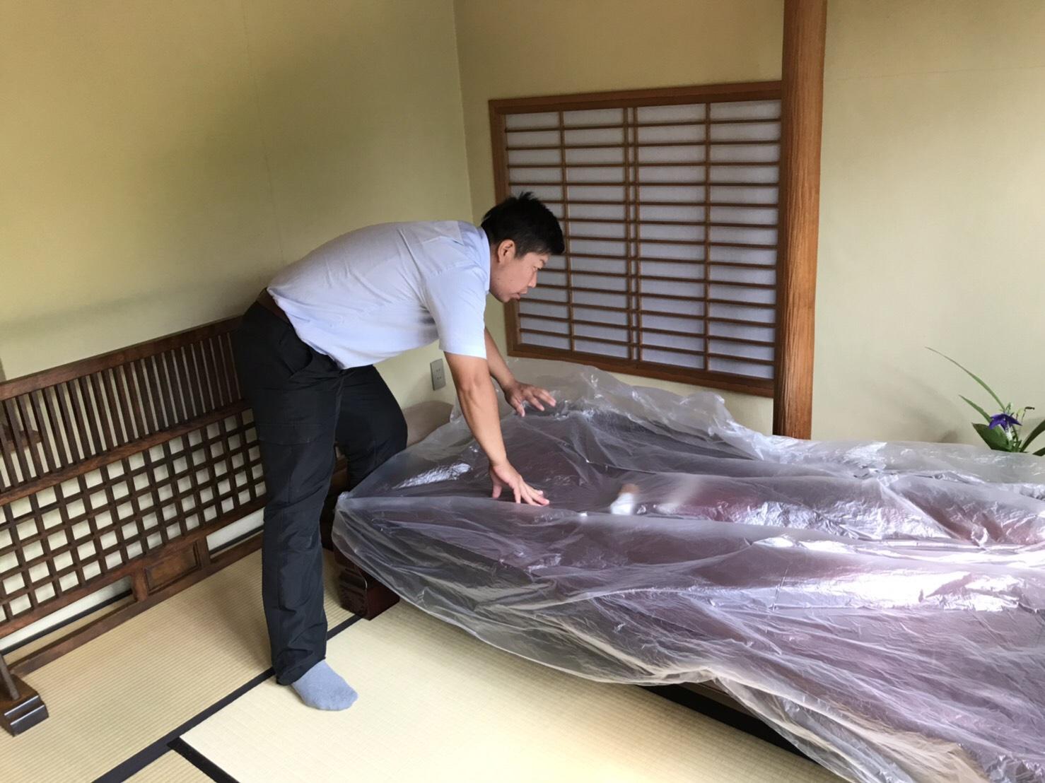リピート!柳川市老舗うなぎ屋さん業務用エアコン清掃