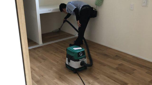 多久市一般住宅新築引き渡し清掃